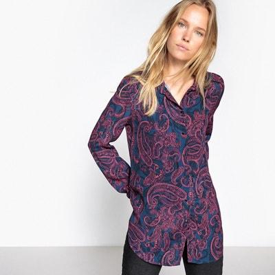 Paisley Print Shirt SUNCOO