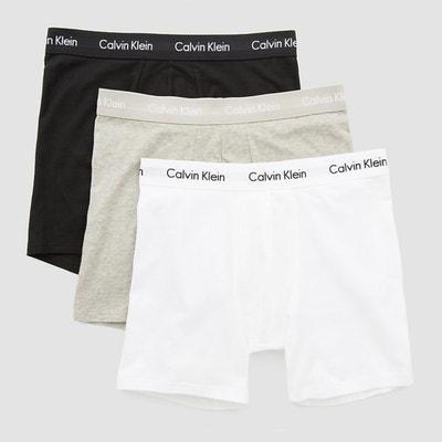 Boxer long, en coton,  lot de 3 Boxer long, en coton,  lot de 3 CALVIN KLEIN