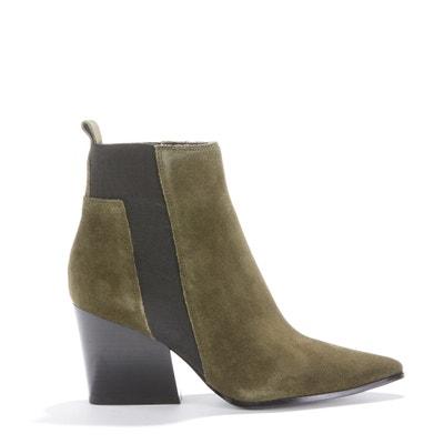 Ботинки с фантазийным каблуком FINCH SUEDE Ботинки с фантазийным каблуком FINCH SUEDE KENDALL + KYLIE