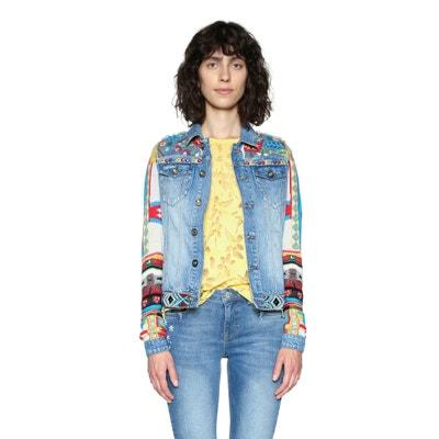 Veste en jean droite DESIGUAL