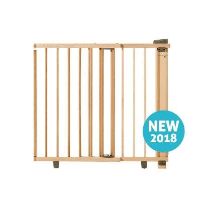 9fc24fe24bd9db Barrière de sécurité plus pour porte 58-93 ou 65-105 cm en bois