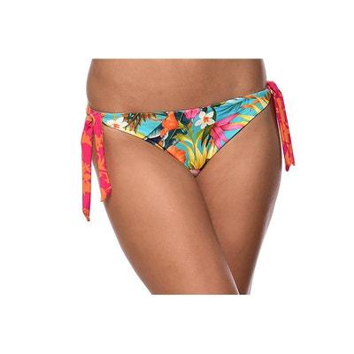 Culotte per bikini double face fiori/righe Culotte per bikini double face fiori/righe BANANA MOON