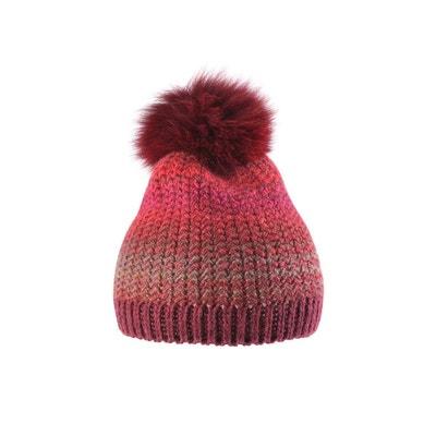 Bonnet multicolore avec pompon laine Bonnet multicolore avec pompon laine TIE RACK