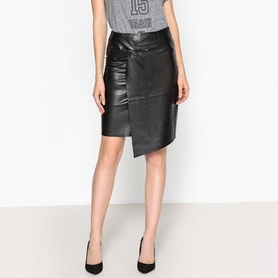 Lea Leather Pencil Skirt Lea Leather Pencil Skirt BA&SH