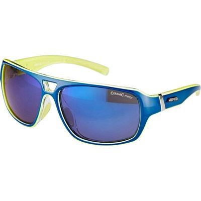 e861620aba36 Yuko - Lunettes cyclisme - jaune bleu Yuko - Lunettes cyclisme - jaune bleu