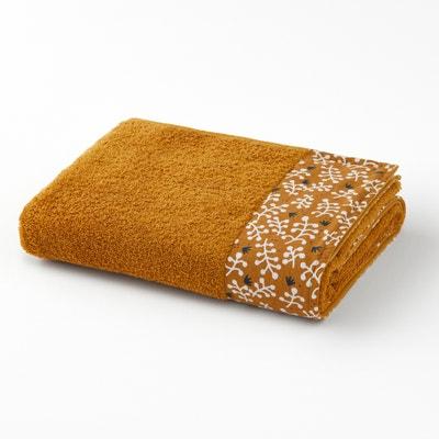 Lonie Patterned Selvedge Towel Lonie Patterned Selvedge Towel La Redoute Interieurs