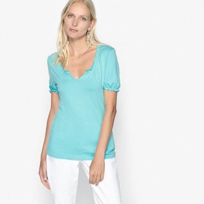 Ruffled T-Shirt Ruffled T-Shirt ANNE WEYBURN