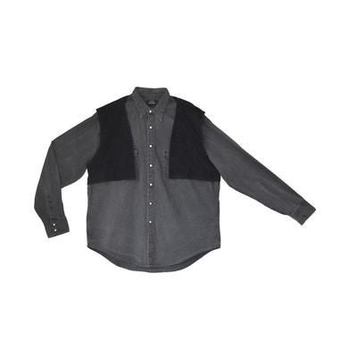 Chemise jeans avec veston-capuche amovible WYLDE