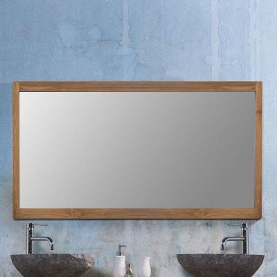 Miroir teck en solde | La Redoute