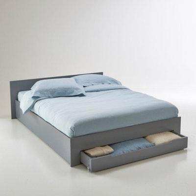 Lit 2 places, avec sommier et tiroir, Crawley Lit 2 places, avec sommier et tiroir, Crawley La Redoute Interieurs