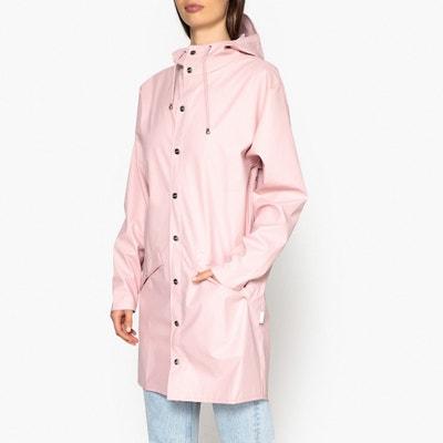 Jacket Mid-Length Hooded Waterproof Jacket RAINS