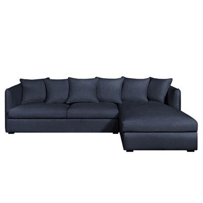 Canapé d'angle fixe Neo Chiquito, coton/lin Canapé d'angle fixe Neo Chiquito, coton/lin AM.PM.