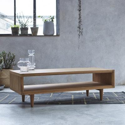 Table basse en bois de teck 120x50 Jonàk Table basse en bois de teck 120x50 Jonàk TIKAMOON