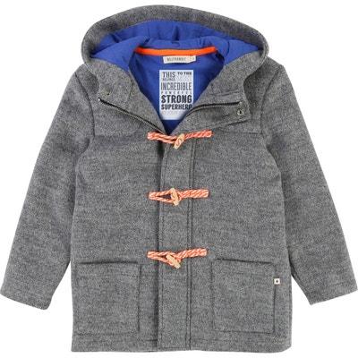 db94352e0e4f2 Manteau gris capuche en solde   La Redoute