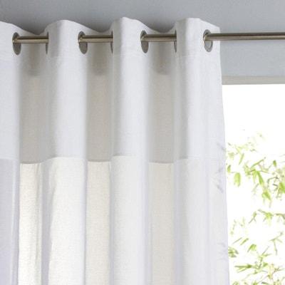 Cortinado em puro algodão com ilhós, OSMAIN Cortinado em puro algodão com ilhós, OSMAIN La Redoute Interieurs
