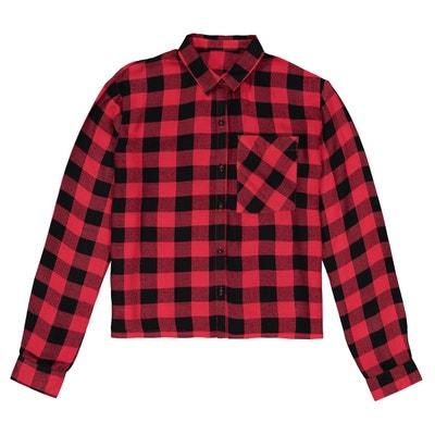Chemise à carreaux 10-16 ans La Redoute Collections