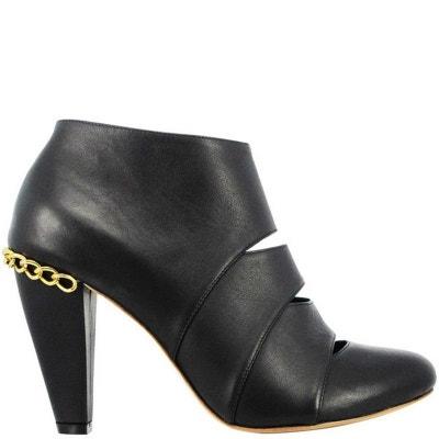 Chaussures femme en cuir FAY Black PRING PARIS 710970e5080a