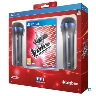 The Voice : La Plus Belle Voix + 2 Micros PS4 The Voice : La Plus Belle Voix + 2 Micros PS4 BIGBEN