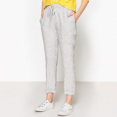 Rechte broek met lint aan de taille, LIONEL Rechte broek met lint aan de taille, LIONEL HARRIS WILSON