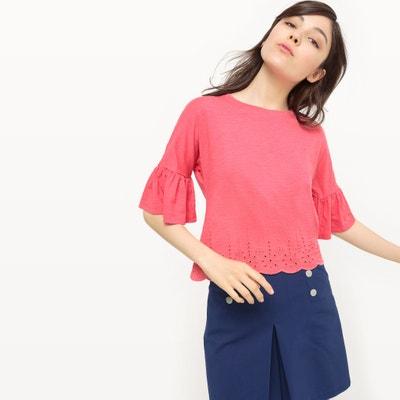 Ruffled Sleeve T-Shirt Ruffled Sleeve T-Shirt MADEMOISELLE R