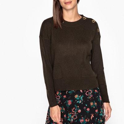 Pull scollo rotondo, fine maglia lana e cachemire AXEL Pull scollo rotondo, fine maglia lana e cachemire AXEL BERENICE