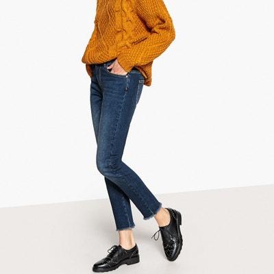 Jeans skinny finitura taglio grezzo, vita standard Jeans skinny finitura taglio grezzo, vita standard La Redoute Collections