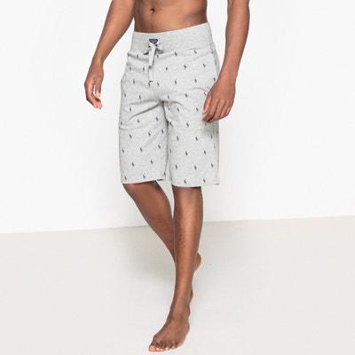 Short de pyjama, pur coton, motif logo cavalier POLO RALPH LAUREN