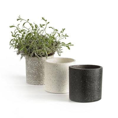 Set of 3 Boham Terrazo Plant Pots Set of 3 Boham Terrazo Plant Pots La Redoute Interieurs