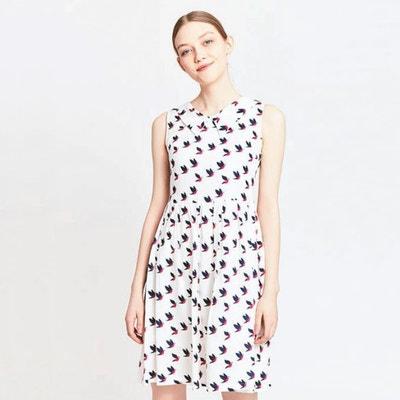 Bird Print Dress MIGLE+ME