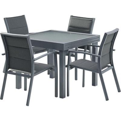 Salon de jardin - Table, chaises Wilsa en solde | La Redoute
