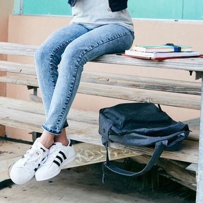 Jean skinny effet neige taille haute 10-16 ans Jean skinny effet neige taille haute 10-16 ans La Redoute Collections