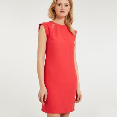 Kurzes, ärmelloses Kleid mit gerader Schnittform und rundem Ausschnitt Kurzes, ärmelloses Kleid mit gerader Schnittform und rundem Ausschnitt MORGAN