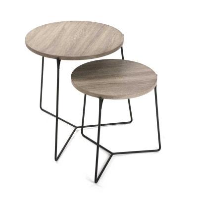 TABLES BASSES D'APPOINT SCANDINAVE FRESH NATACHA B