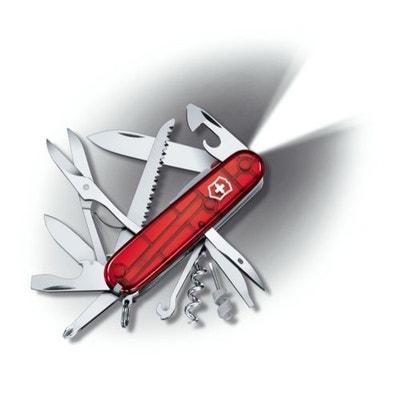 Couteau Suisse de Poche - 21 Pieces - Victorinox Huntsman Lite - 1.7915.T - Rouge Transparent Couteau Suisse de Poche - 21 Pieces - Victorinox Huntsman Lite - 1.7915.T - Rouge Transparent VICTORINOX