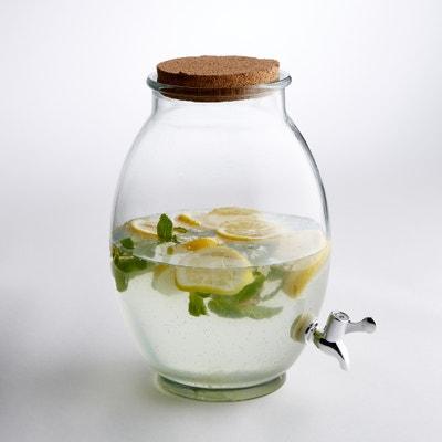 Récipient à boisson en verre transparent, taille M La Redoute Interieurs