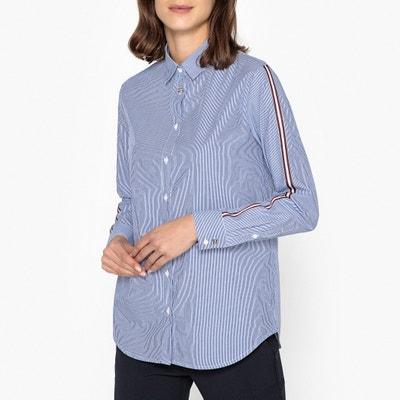 Gestreifte Bluse mit langen Ärmeln, Borte an den Ärmeln IKKS. Sale- La  Brand Boutique e4ae4a571b