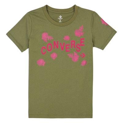 T-shirt de gola redonda, mangas curtas, Logo T-shirt de gola redonda, mangas curtas, Logo CONVERSE