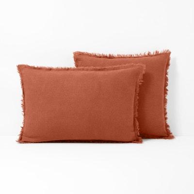 Capa de almofada em puro linho lavado LINANGE Capa de almofada em puro linho lavado LINANGE La Redoute Interieurs