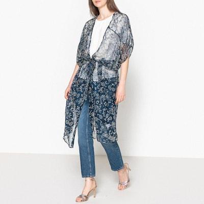 Kimono imprimé en voile BROMO MES DEMOISELLES