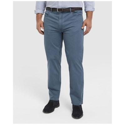Pantalon cinq poches regular bleu DUSTIN 72e88851622