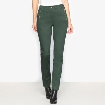 Pantaloni, satin di cotone stretch Pantaloni, satin di cotone stretch ANNE WEYBURN