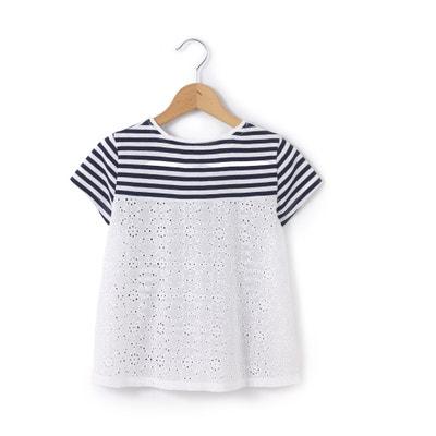 T-Shirt mit rundem Ausschnitt und Aufdruck T-Shirt mit rundem Ausschnitt und Aufdruck La Redoute Collections