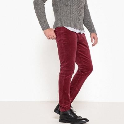 Pantalon en velours coupe slim Pantalon en velours coupe slim LA REDOUTE  COLLECTIONS 75bdbc549a7d