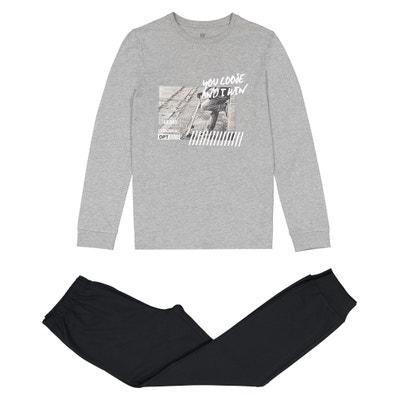 Pyjama photo skate manches longues 10 -16 ans Pyjama photo skate manches longues 10 -16 ans La Redoute Collections