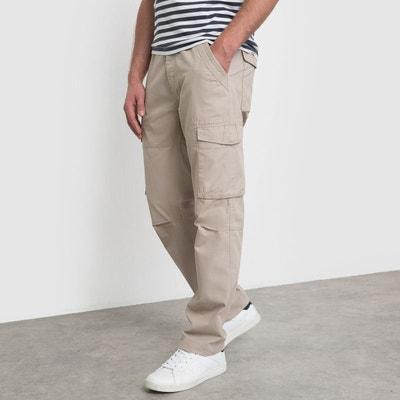 Pantalon cargo AUBIN pur coton Pantalon cargo AUBIN pur coton LA REDOUTE COLLECTIONS
