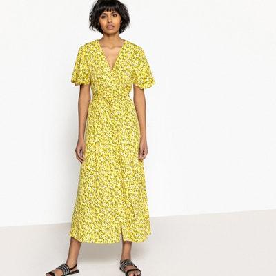 Floral Print Midi Dress VERO MODA