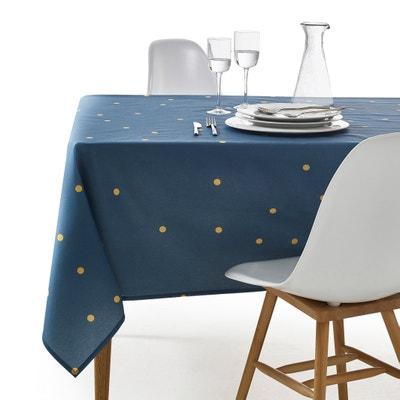 Zinnia Polycotton Printed Tablecloth La Redoute Interieurs