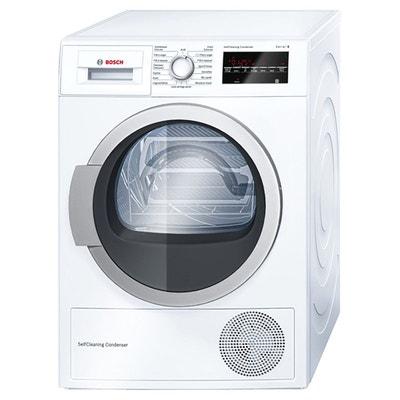 Sèche-linge à condensation WTW87460FF blanc Sèche-linge à condensation WTW87460FF blanc BOSCH