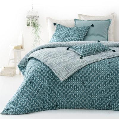 couvre lit voile de coton matelass odisha la redoute interieurs - Couvre Lit Boutis Ikea
