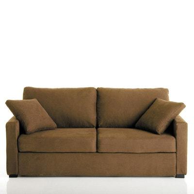 Canapé lit, couchage express, microfibre Timor La Redoute Interieurs